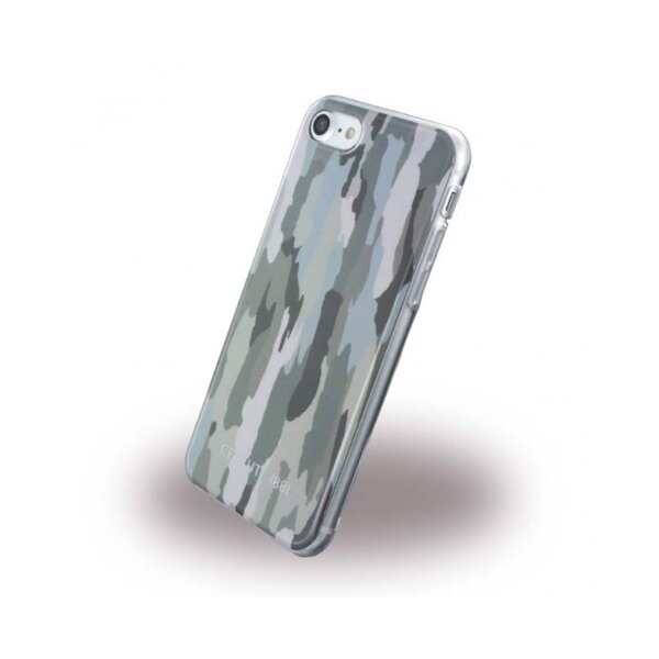 CG Mobile CEHCP7CAGR CERRUTI Camouflage TPU Case Green for iPhone 7/8