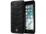 Mercedes Pattern I Leather Case Black for iPhone 8 / iPhone 7