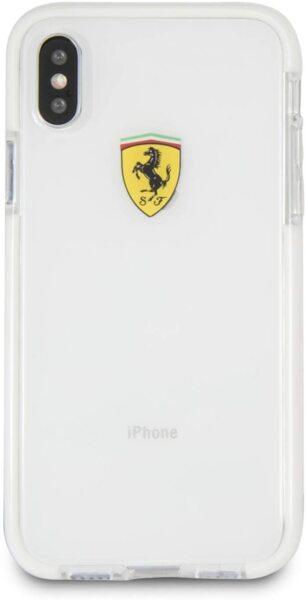CG Mobile Racing TPU Case Transparent Ferrari for iPhone 7/8