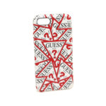 CG Mobile GUHCI8PMPT Guess Triangle Hard Case White and Red for iPhone 7/8