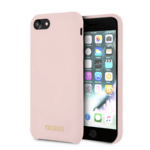 CG Mobile GUHCI8LSGLLP Guess Silicone Logo TPU Case Light Pink for iPhone 7/8