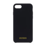 CG Mobile GUHCI8LSGLBK Guess Silicone Logo TPU Case Black for iPhone 7/8