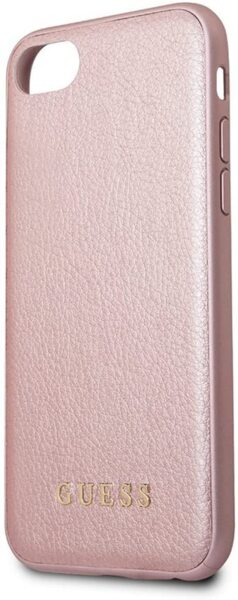 CG mobile Guess GUHCI8IGLRG IriDescent TPU Case Rose Gold for iPhone 7/8