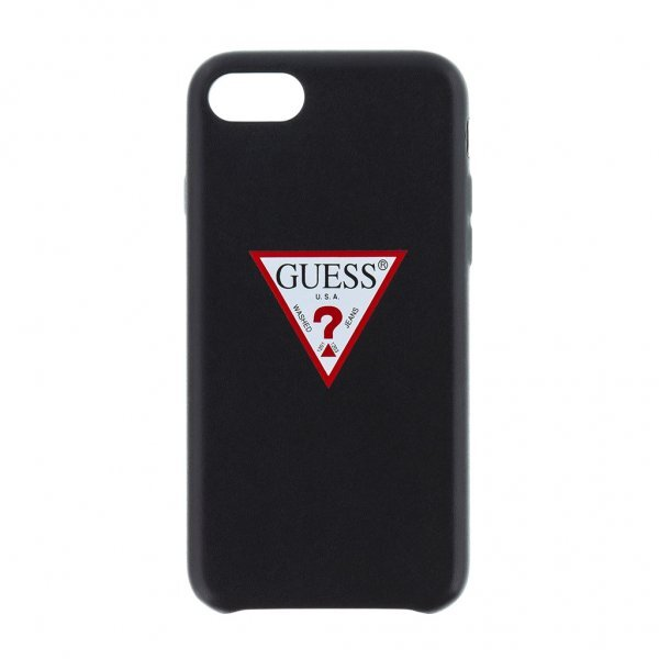 CG Mobile GUHCI8PTPUBK Guess Triangle Hard Case Black for iPhone 7/8