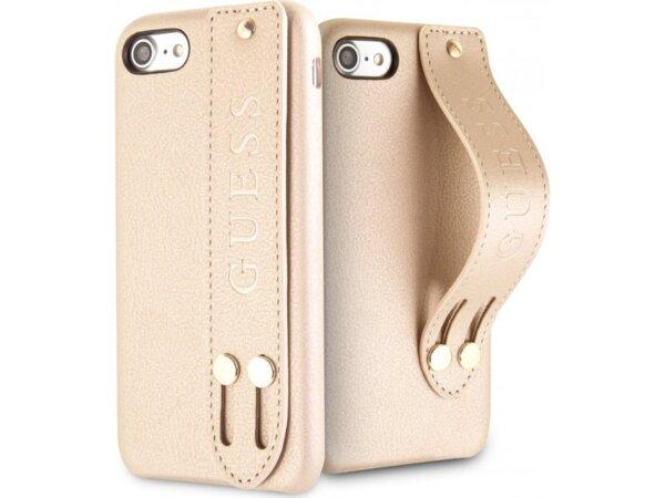 GUHCI8SBSBE Guess Saffiano Strap Pouzdro pro iPhone 7/8
