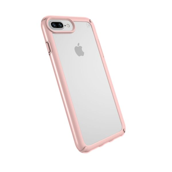Speck iPhone 8/7/6S CASE CLEAR/ROSE GOLD