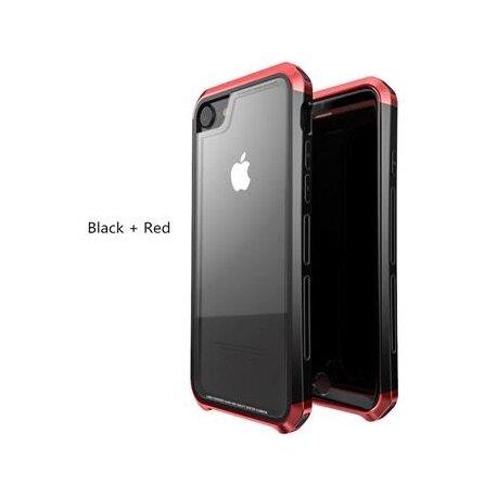 Luphie Double Dragon Alluminium Hard Case Black/Red for iPhone 7/8 Plus