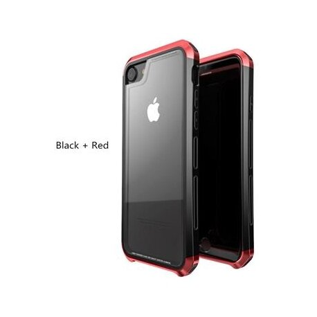 Luphie Double Dragon Alluminium Hard Case Black/Red for iPhone 7/8