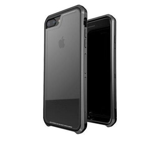 Luphie Double Dragon Alluminium Hard Case Black/Black for iPhone 7/8