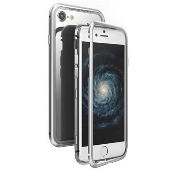 Luphie Magneto Hard Case Silver/Crystal pro iPhone 7/8