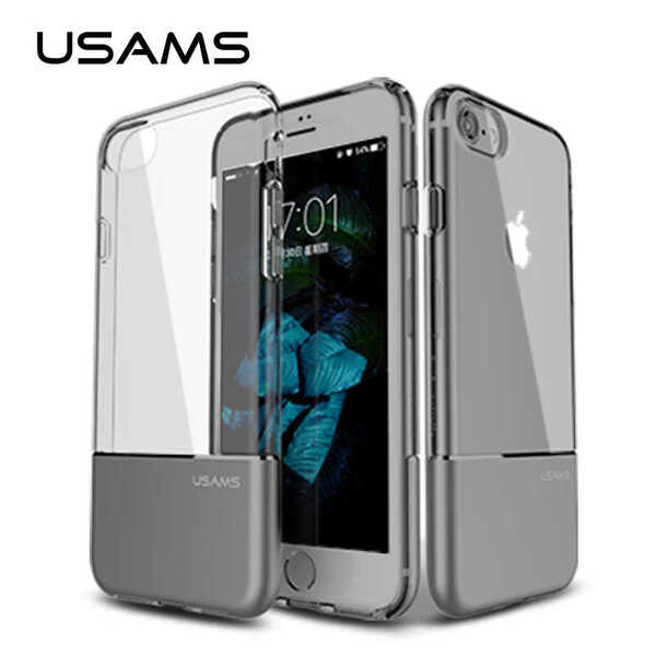 USAMS Ease Hard Cover for iPhone 7 Silver