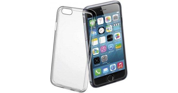 Fine прозрачен тънък гумен калъф за iPhone 7