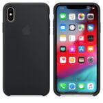 ple iPhone XS Max Silicone Case - Black