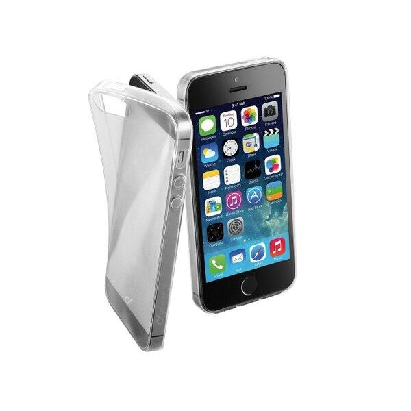 Cellular Line Capa Clear Fine para Apple iPhone SE/5S/5 Clear
