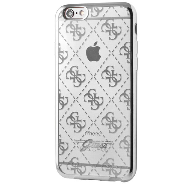 Guess iPhone Case 6/6s Silicone Transparent