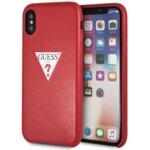 Guess  GUHCI65PTPURE PU Leather Case Triangle Red pro iPhone 6.5
