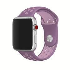 Handodo Double Silicone Band for iWatch 4 40mm Purple/Pink (EU Blister)