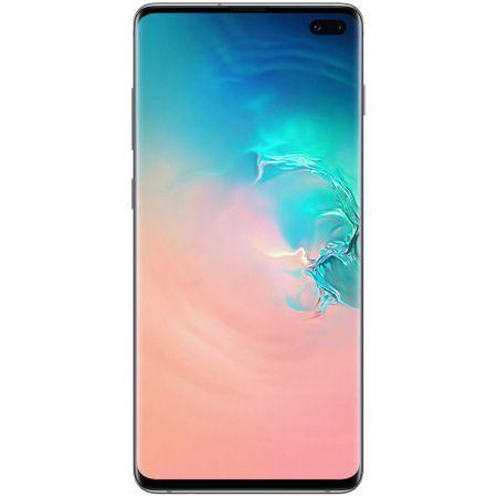 Смартфон Samsung Galaxy S10 Plus, Dual SIM, 128GB, 8GB RAM, Prism White