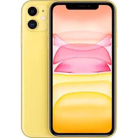 Смартфон Apple iPhone 11, 64GB, Yellow