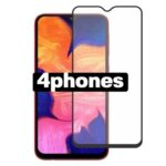 4phones Samsung Galaxy A70 Full Tempered Glass Black