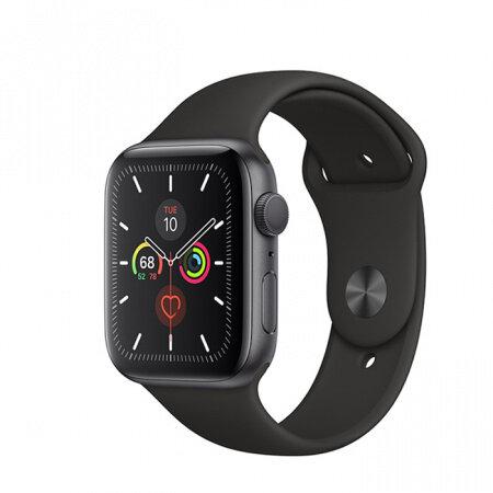 Смарт часовник  Apple Watch Series 5 GPS, 40mm Space Grey Aluminium Case with Black Sport Band