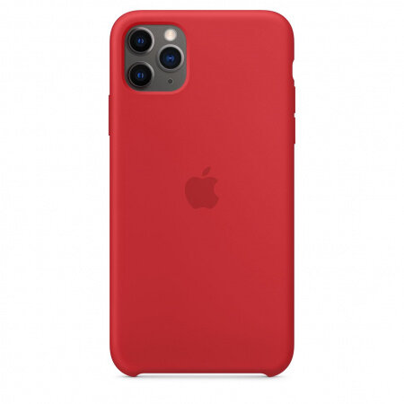Apple iPhone 11 Pro Max Silicone Case - (PRODUCT)RED