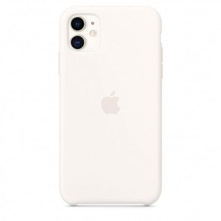 Apple iPhone 11 Silicone Case - White