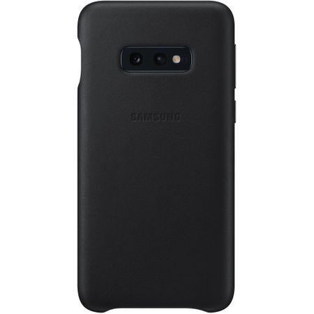 Кожен калъф от Samsung за Galaxy S10e -  Black