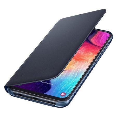 Samsung Wallet Case for Galaxy A50 Black EF-WA505PBE
