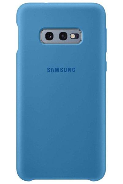 Силиконов калъф от Samsung за Galaxy S10e - Blue