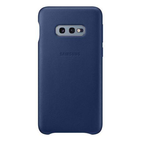 Кожен калъф от Samsung за Galaxy S10e - Navy