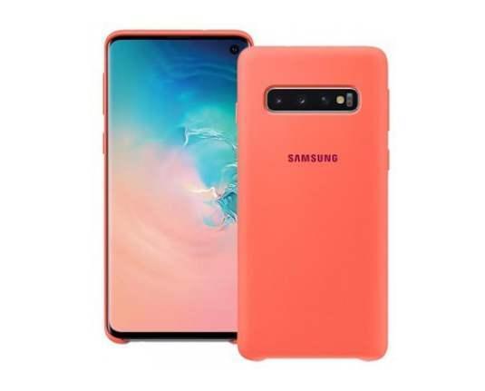 Силиконов калъф от Samsung за Galaxy S10 - Pink