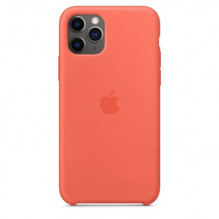 Apple iPhone 11 Pro Silicone Case - Clementine (Orange) (Seasonal Autumn 2019)