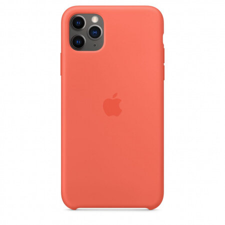 Apple iPhone 11 Pro Max Silicone Case - Clementine (Orange) (Seasonal Autumn 2019)