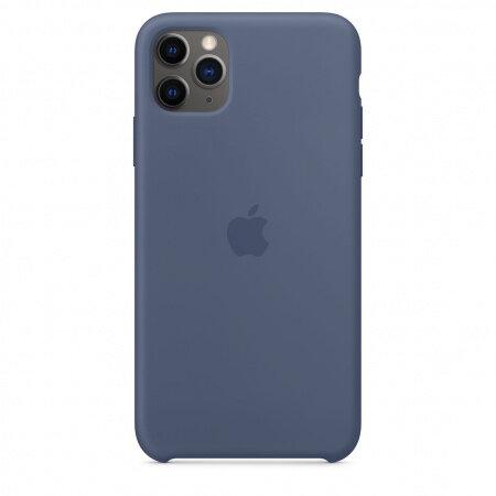 Apple iPhone 11 Pro Max Silicone Case - Alaskan Blue (Seasonal Autumn 2019)
