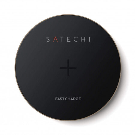 Satechi Aluminum Fast Wireless Charger - Gold