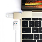 Satechi Type-C - Type A USB Adapter - Gold