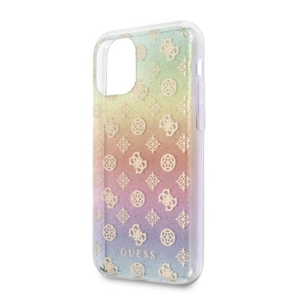 Guess Iridescent 4G Peony Cover for iPhone 11