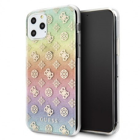 Guess Iridescent 4G Peony Cover for iPhone 11 Pro Max