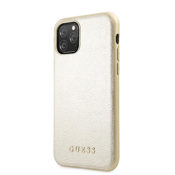 Guess Iridescent Cover for iPhone 11 Pro Gold
