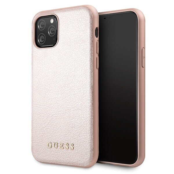 Guess Iridescent Cover for iPhone 11 Pro Rose
