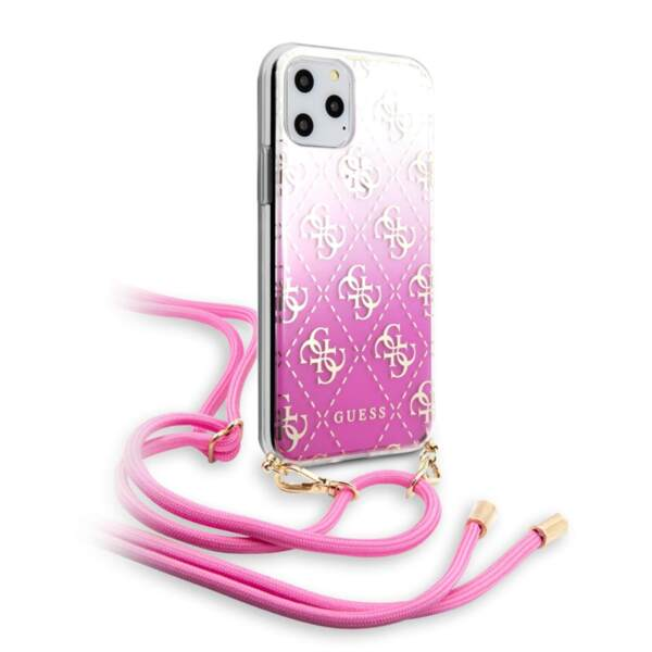 Guess 4G Gradient Cover for iPhone 11 Pro Pink