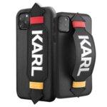 KLHCN58HDAWBK Karl Lagerfeld Strap Cover for iPhone 11 Pro Black (EU Blister)