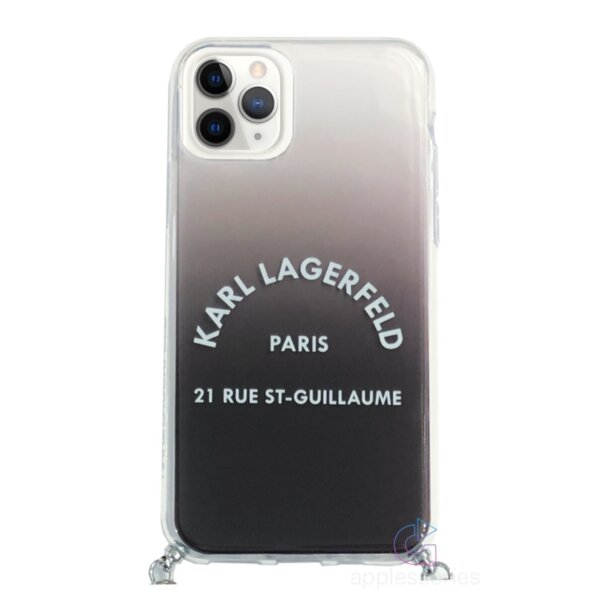 Karl Lagerfeld Gradient Cover for iPhone 11 Pro