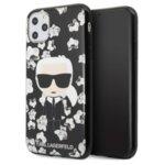 KLHCN65FLFBBK Karl Lagerfeld TPU Flower Cover for iPhone 11 Pro Max Black (EU Blister)