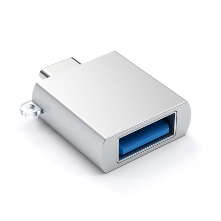 Satechi Type-C - Type A USB Adapter - Silver