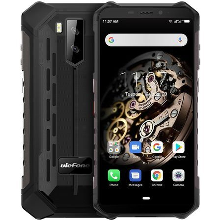 Смартфон Ulefone Armor X5, 32GB, Black