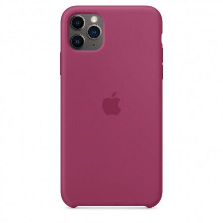 Apple iPhone 11 Pro Max Silicone Case - Pomegranate (Seasonal Winter2019)