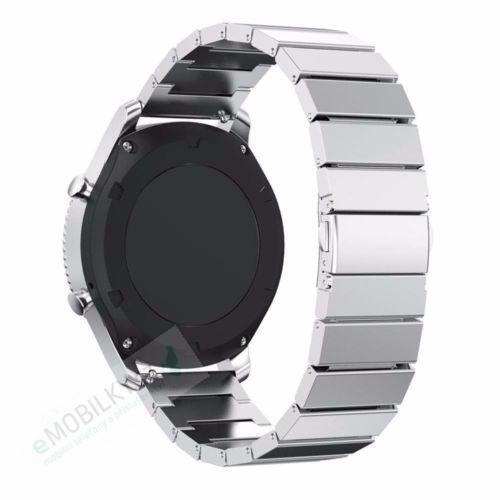Tactical 004 Buckle Magnetic Stainless Steel Band for Apple Watch 38/40 mm Silver