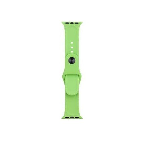Tactical 472 Silicone Band for iWatch 1/2/3 42mm Light Green